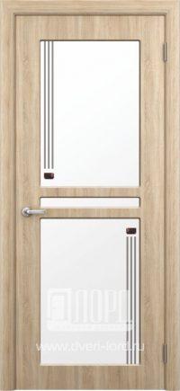 Межкомнатная дверь фабрики Лорд - натель со стеклом