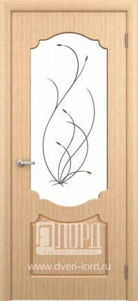 Межкомнатная дверь фабрики Лорд - натали со стеклом