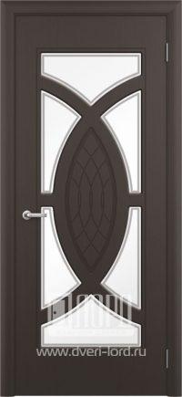 Межкомнатная дверь фабрики Лорд - камея со стеклом