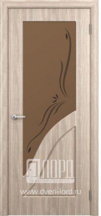 Межкомнатная дверь фабрики Лорд - жасмин со стеклом