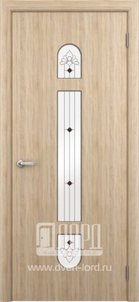 Межкомнатная дверь фабрики Лорд - диадема со стеклом