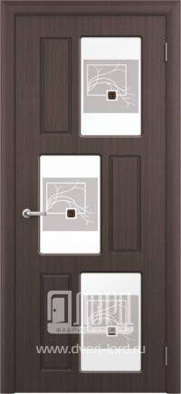 Межкомнатная дверь фабрики Лорд - гамма со стеклом