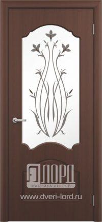 Межкомнатная дверь фабрики Лорд - валенсия со стеклом