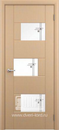 Межкомнатная дверь фабрики Лорд - белла со стеклом