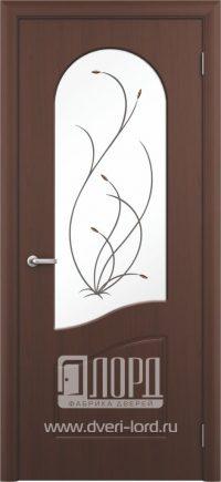 Межкомнатная дверь фабрики Лорд - анастасия со стеклом