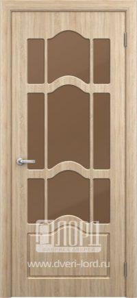 Межкомнатная дверь фабрики Лорд - ампир со стеклом