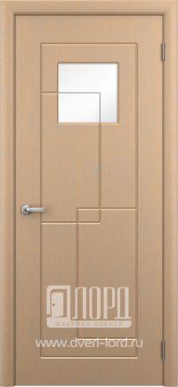 Межкомнатная дверь фабрики Лорд - авангард со стеклом