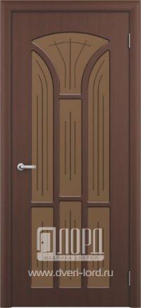 Межкомнатная дверь фабрики Лорд - лотос со стеклом