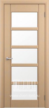 Межкомнатная дверь фабрики Лорд - м 17 со стеклом