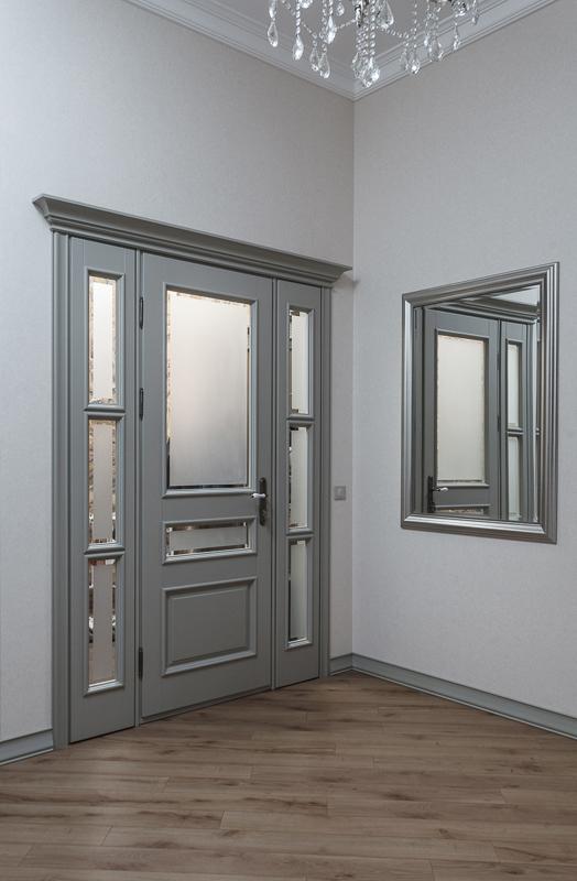 фото дверь массив с фрамугой