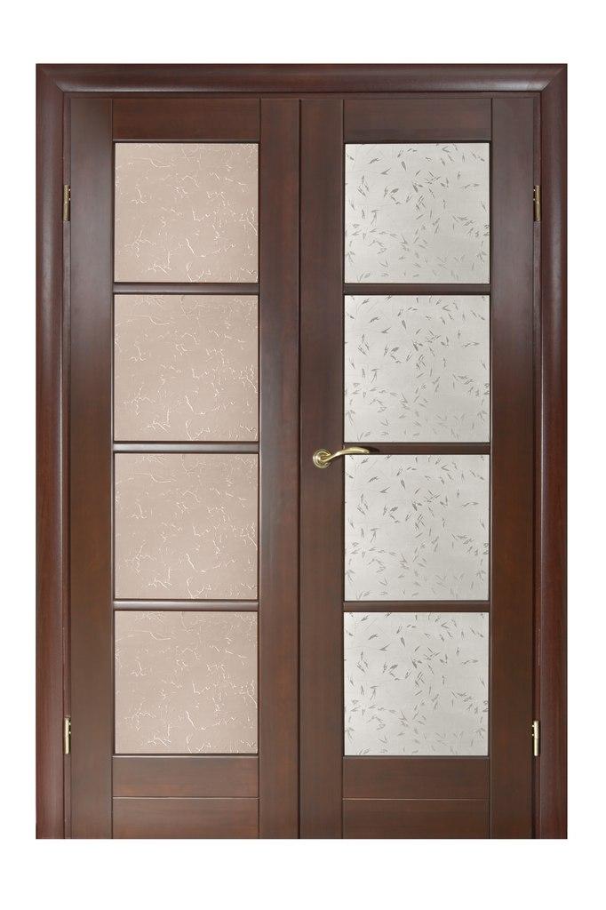 двери в гостиную массив