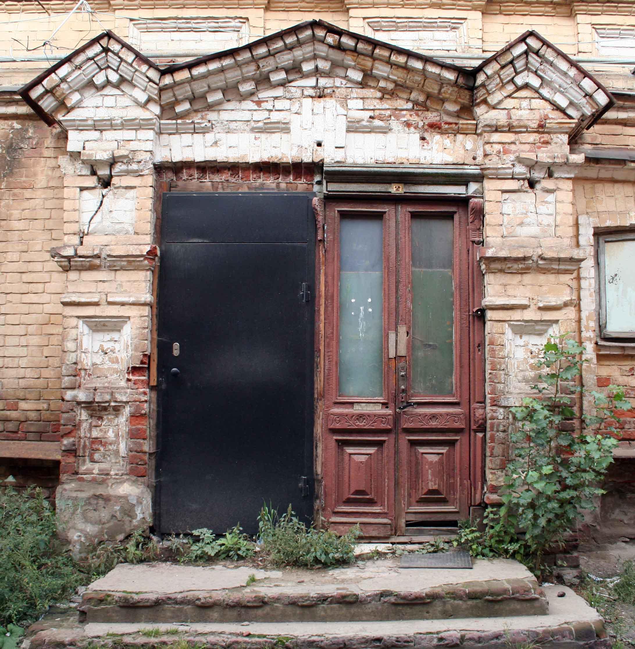 деревянная дверь, г. Казань