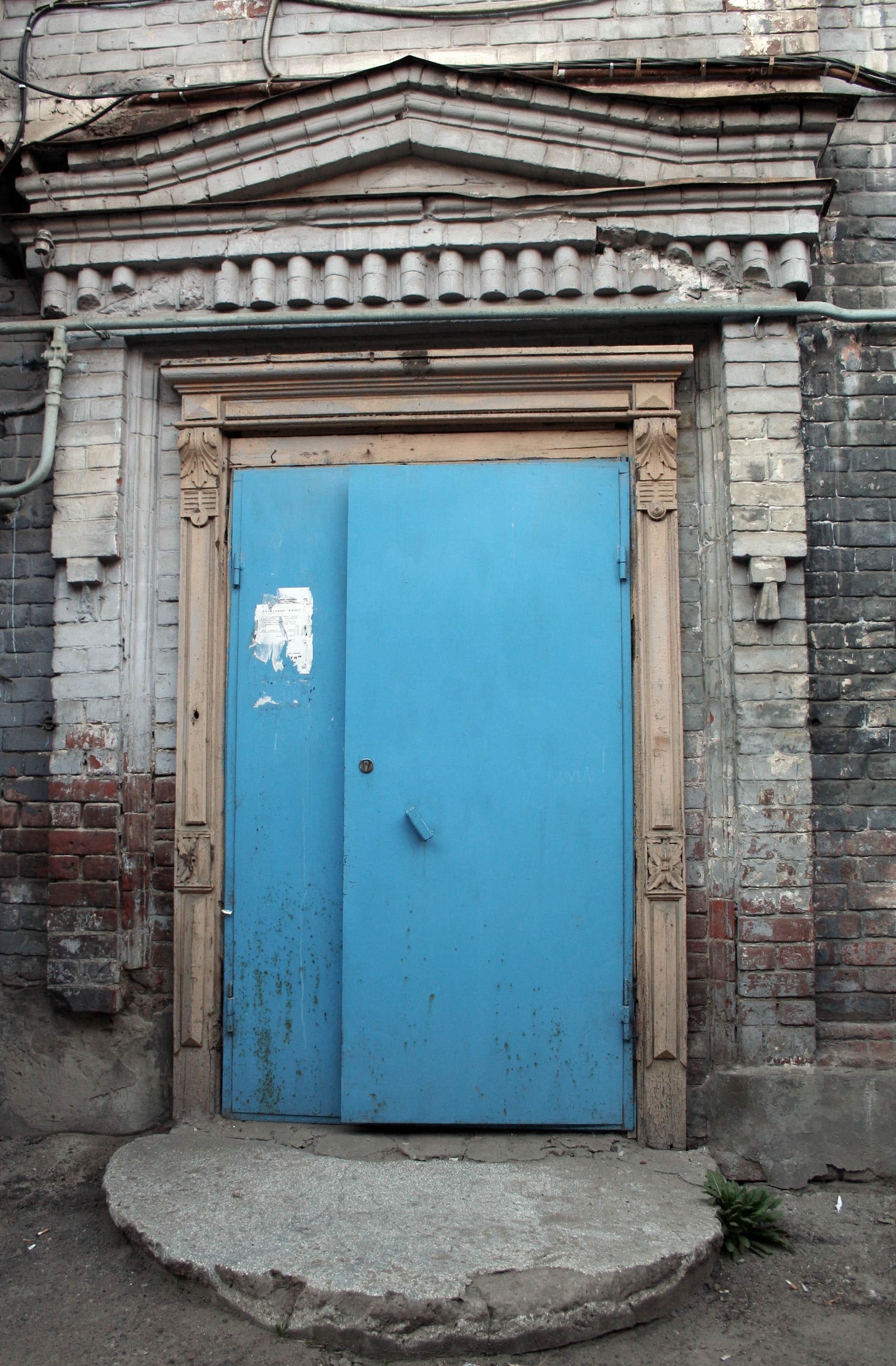 обрамление парадной двери