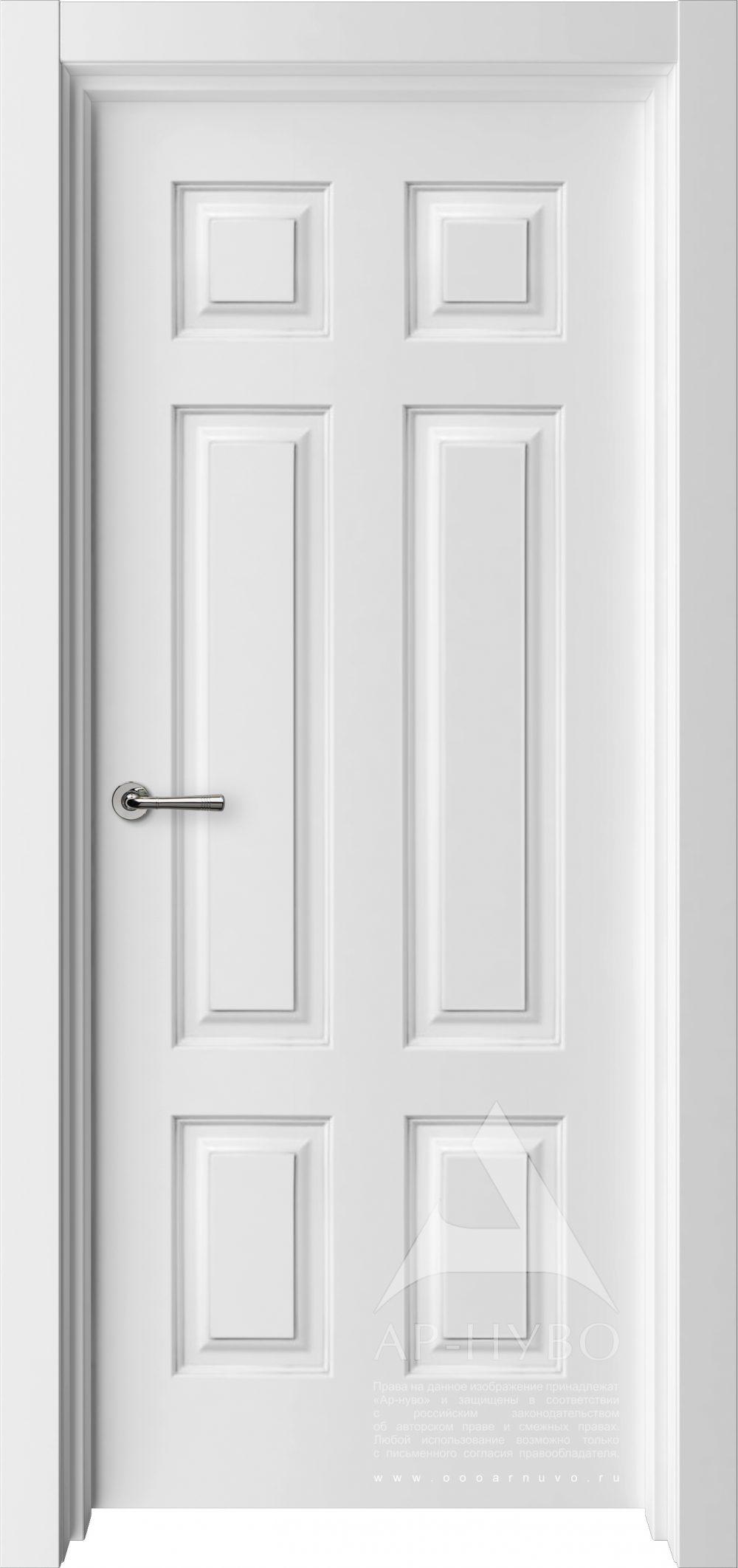 белая межкомнатная дверь Американо