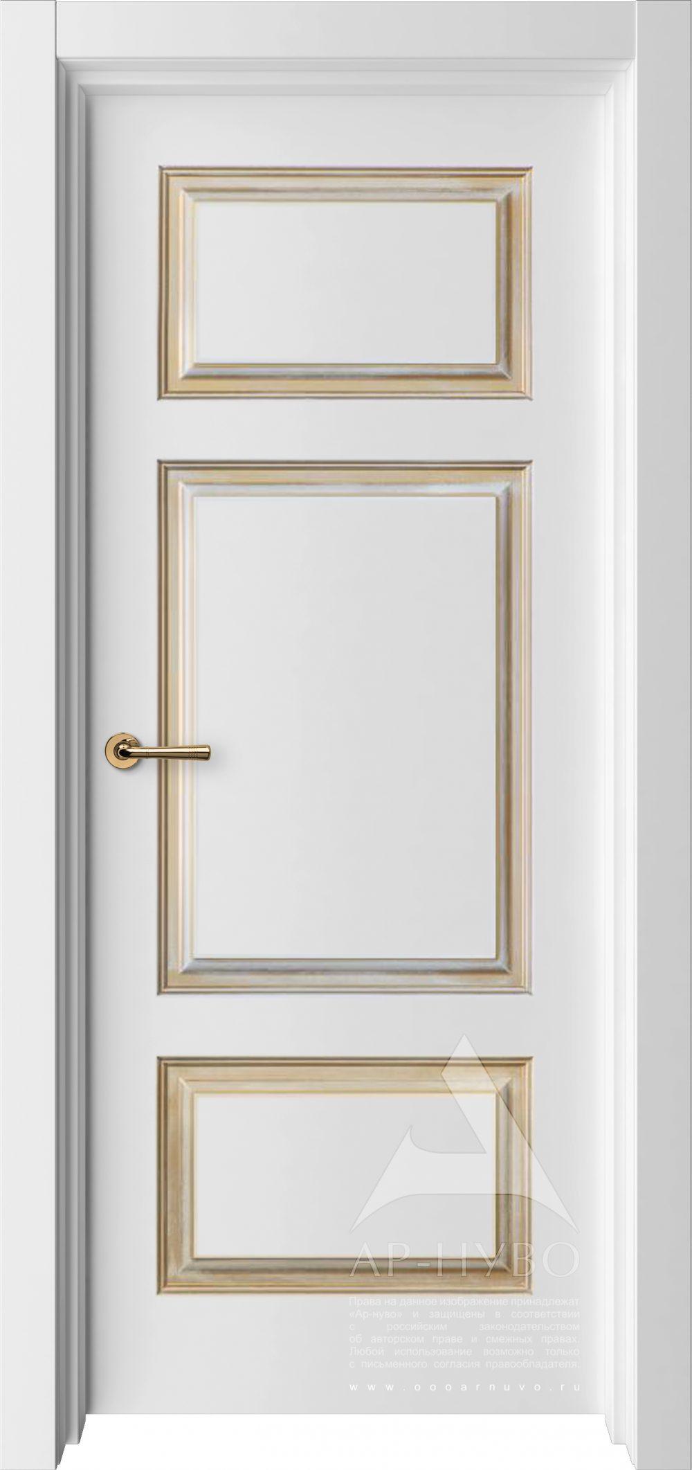 белая межкомнатная дверь Барселона
