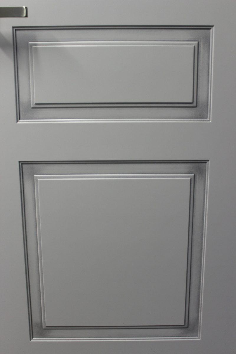 фрагмент двери с патиной серебро