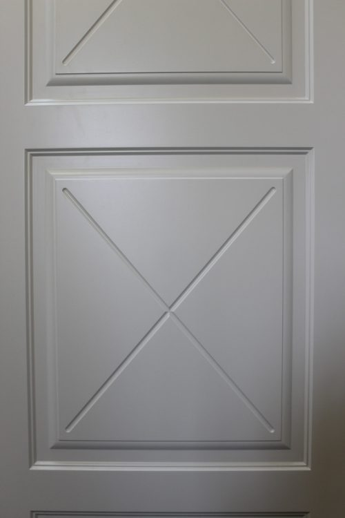 крест на двери