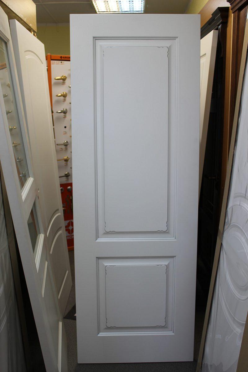 белая дверь с патиной серебро фото