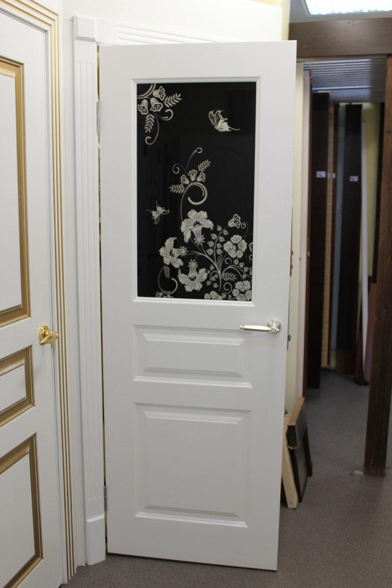 дверь с фотопечатью фото