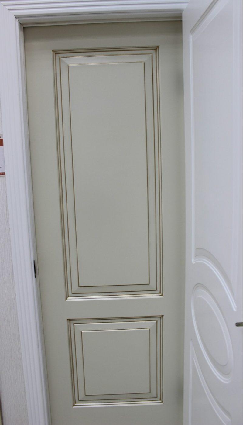 дверь слоновая кость с патиной фото