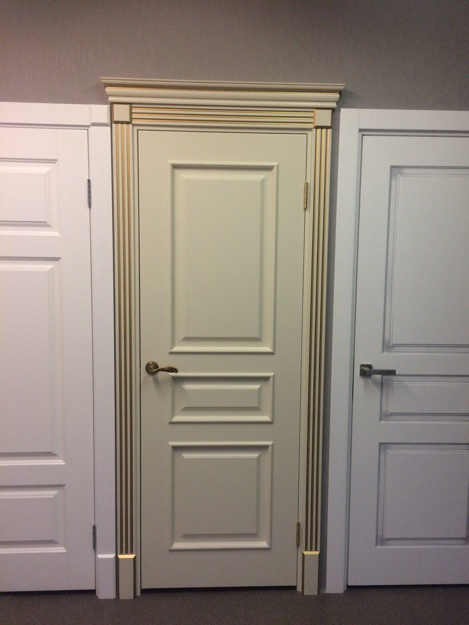 межкомнатная дверь цвет слоновая кость
