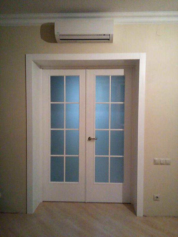 двойные двери в гостиную фото