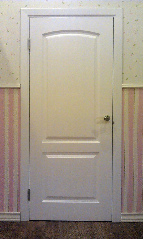 белая межкомнатная дверь венеция фото