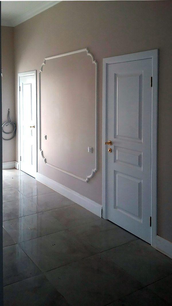 белая межкомнатная дверь фото