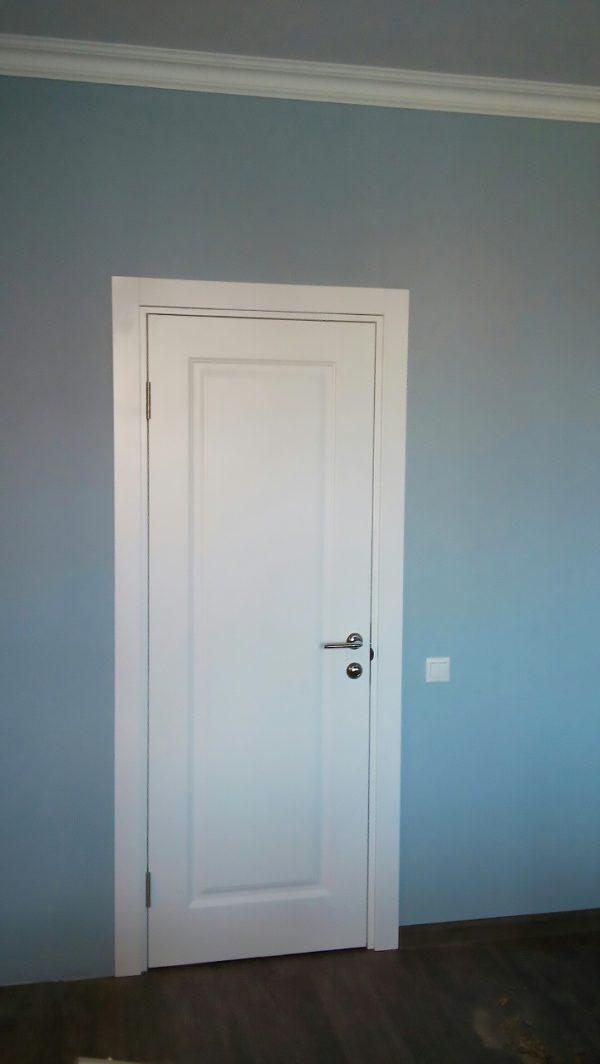межкомнатная белая дверь Порта глухая фото