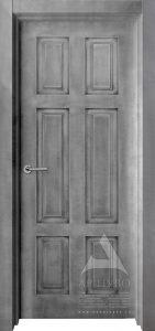 межкомнатная дверь лофт под бетон