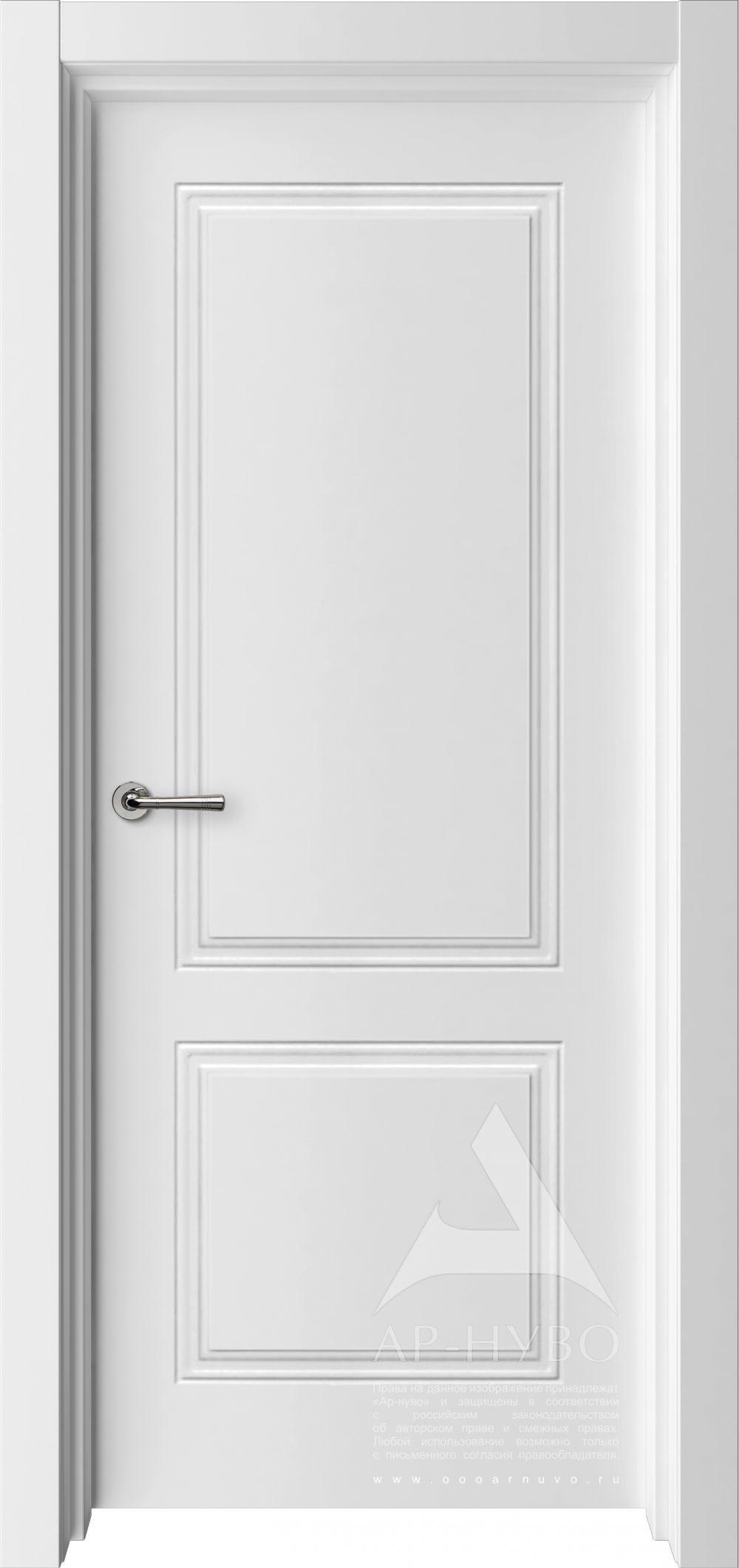 классика белая межкомнатная дверь
