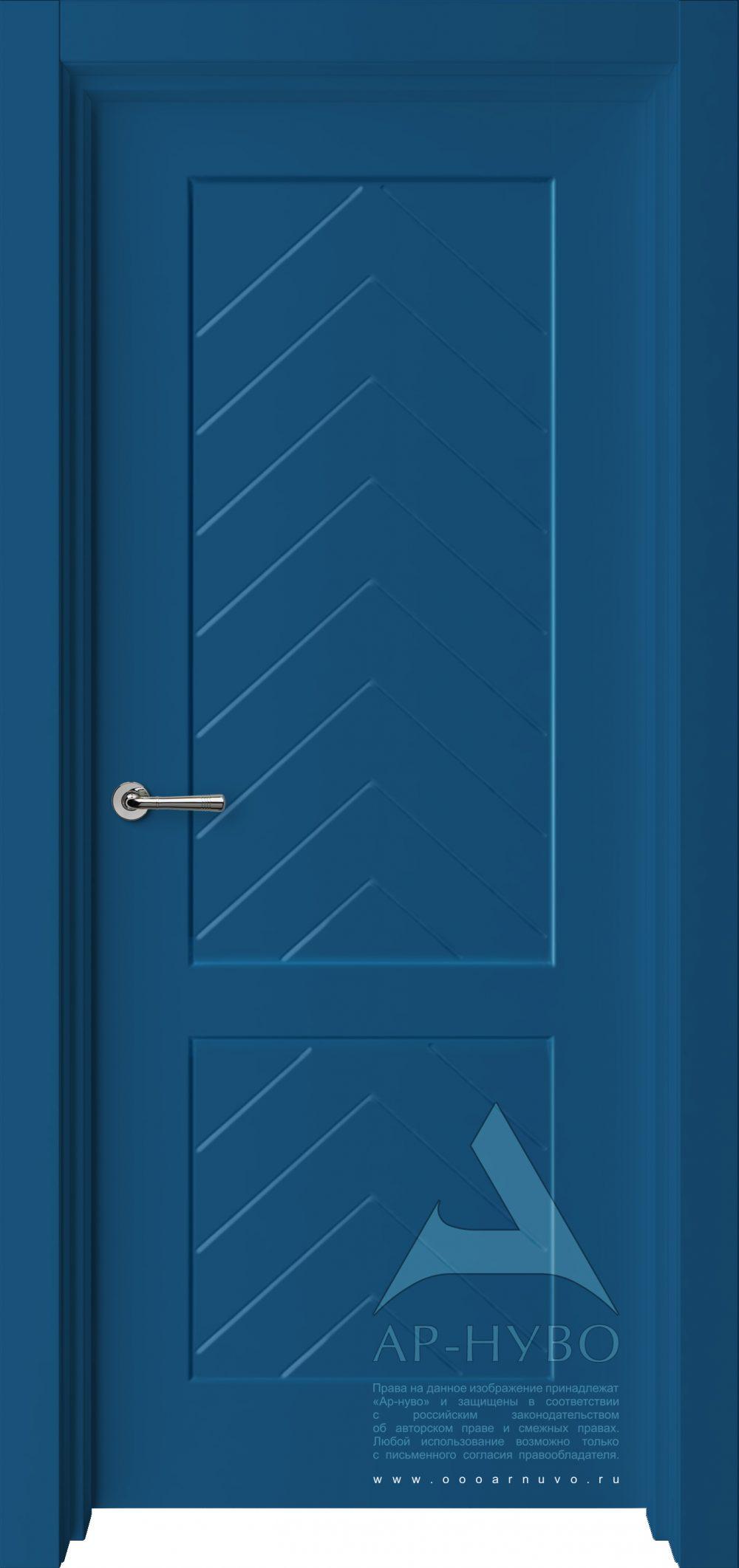 синяя дверь Елочка