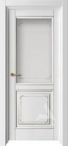 межкомнатная дверь белая со стеклом