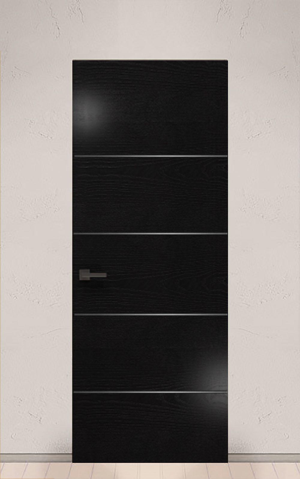 INVISIBLE черная дверь