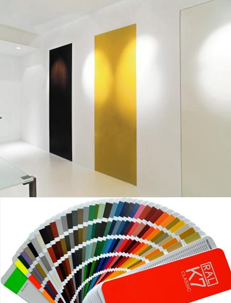 двери скрытые цветные