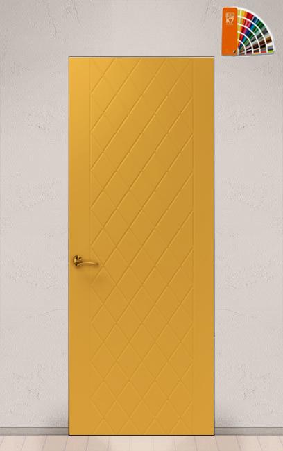 скрытая дверь в цвете