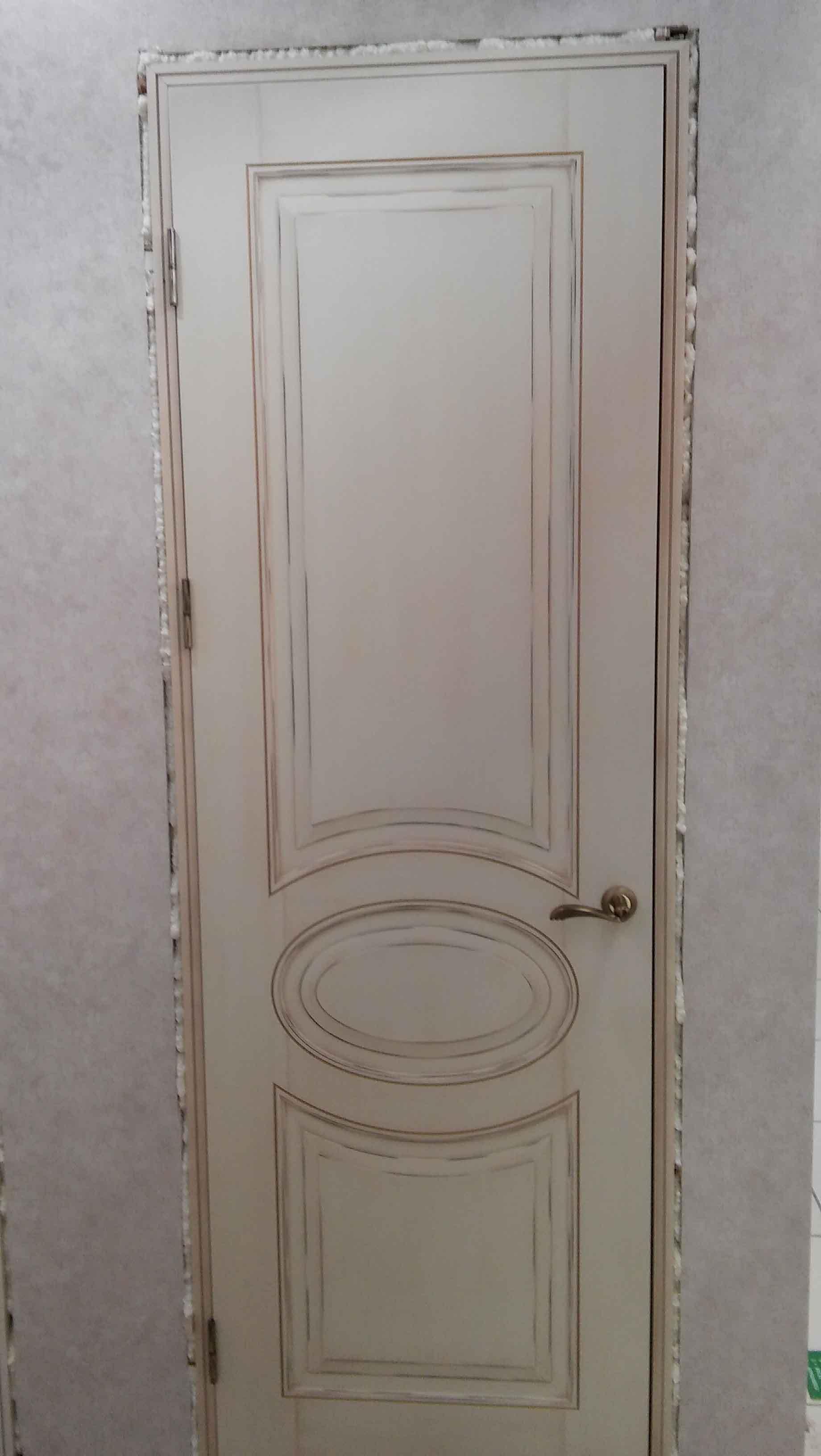 межкомнатная дверь состаренная фотография