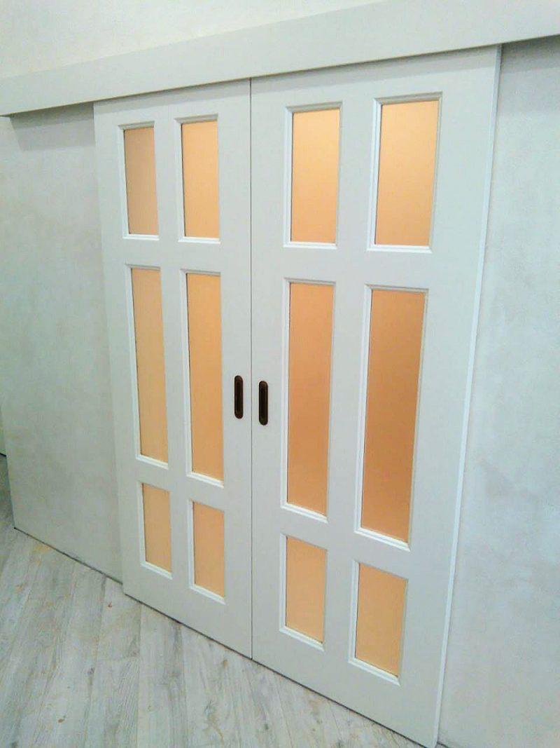 двойная дверь купе фотография