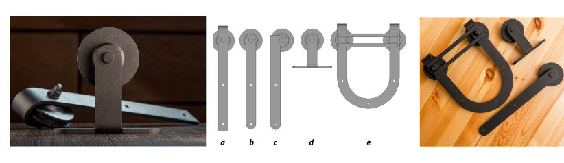 фурнитура для амбарных дверей типы