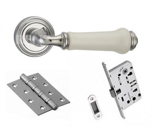 комплект фурнитуры для двери с ручкой Renz
