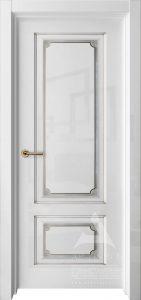 глянцевая дверь с патиной