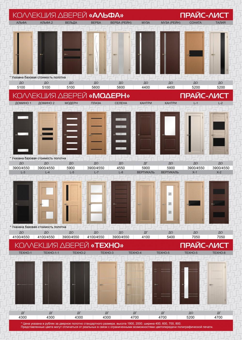 Межкомнатные двери от производителя купить по оптовым ценам