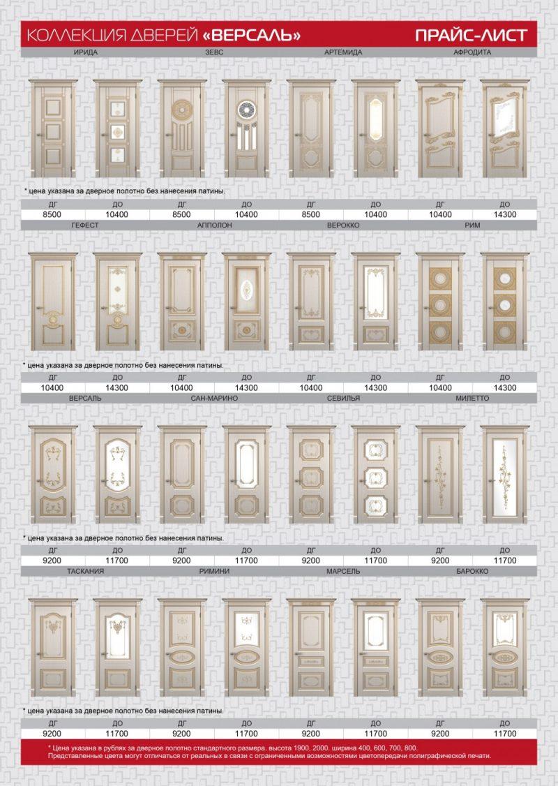 межкомнатные двери в казани каталог и цена патина