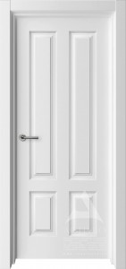 белая межкомнатная дверь в американском стиле