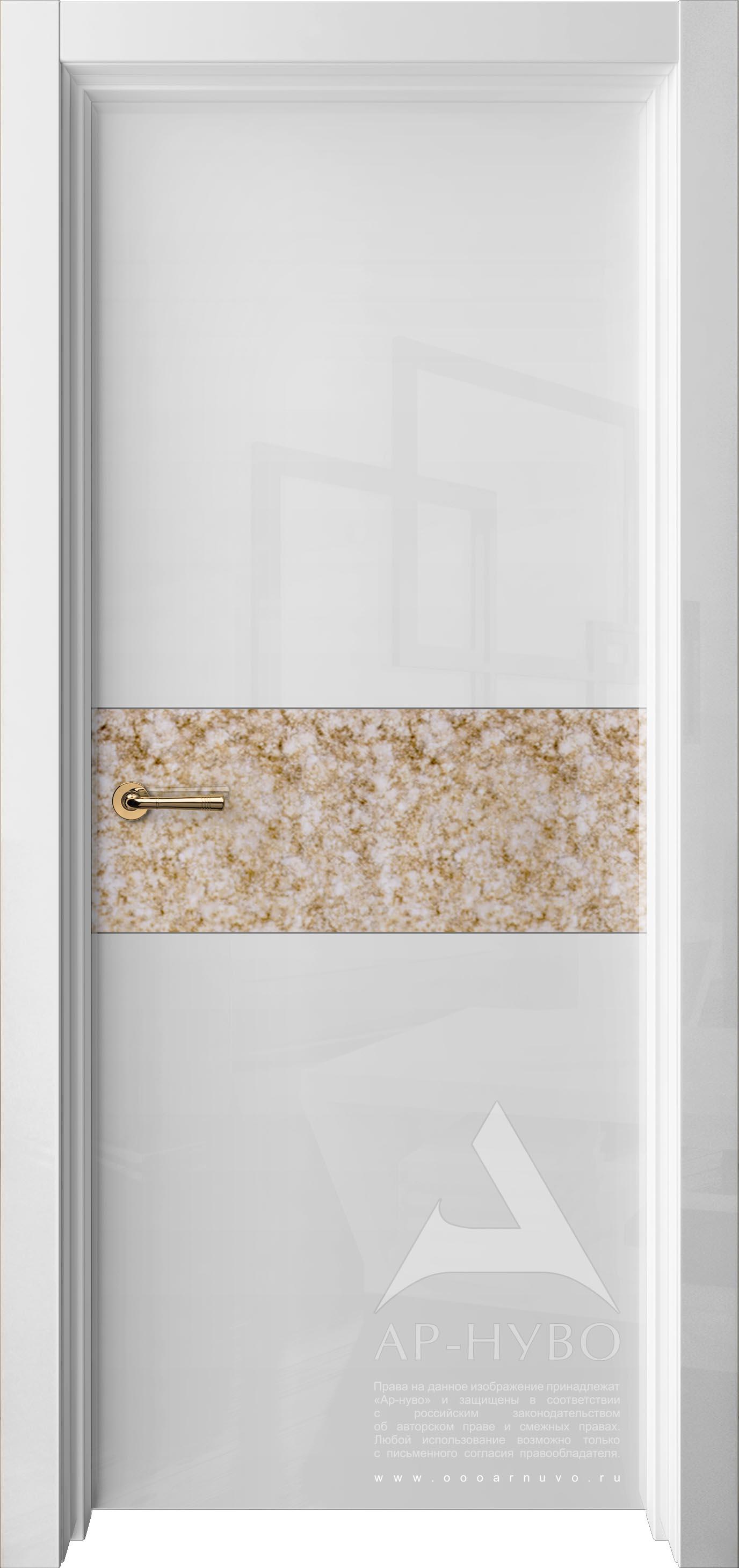 глянцевая дверь лофт