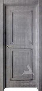 межкомнатная дверь в стиле лофт под бетон ника