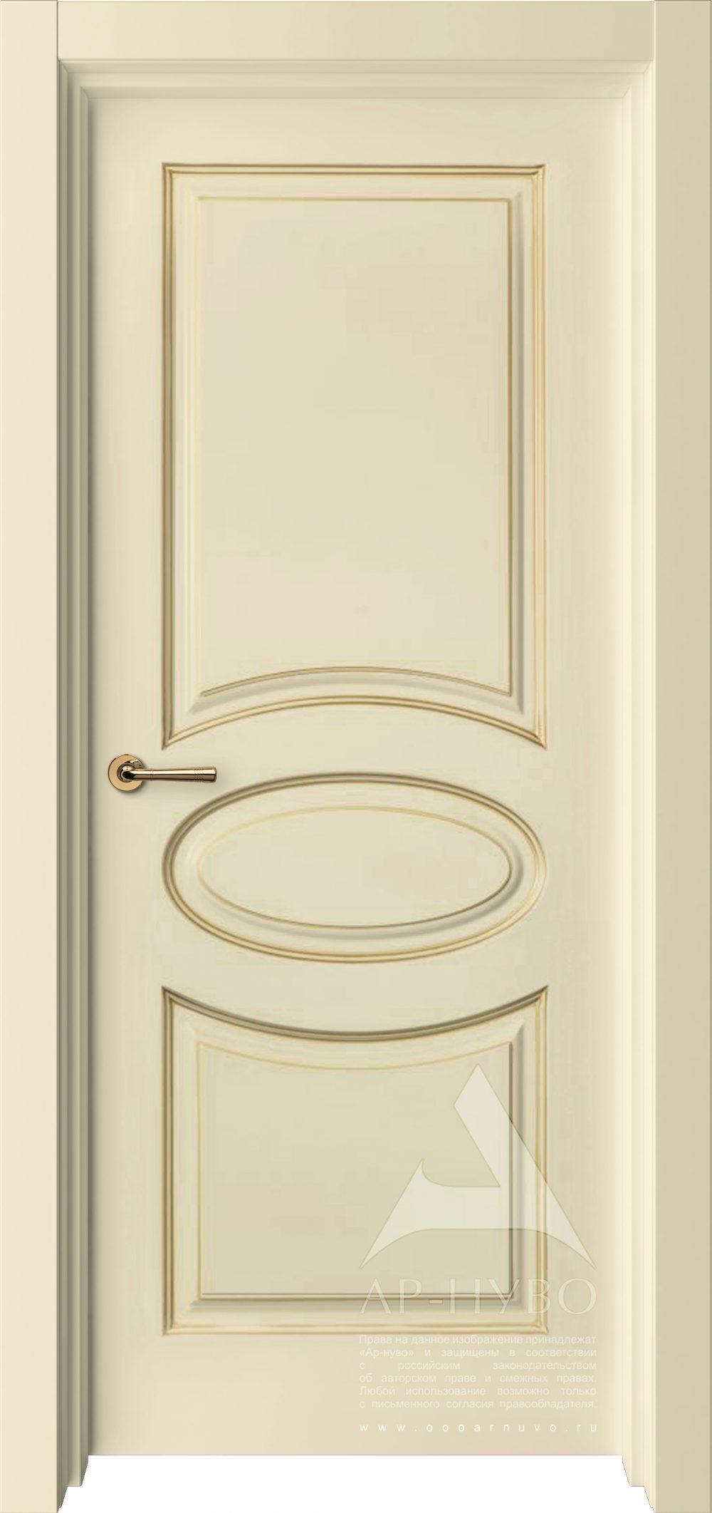дверь Олимп слоновая кость