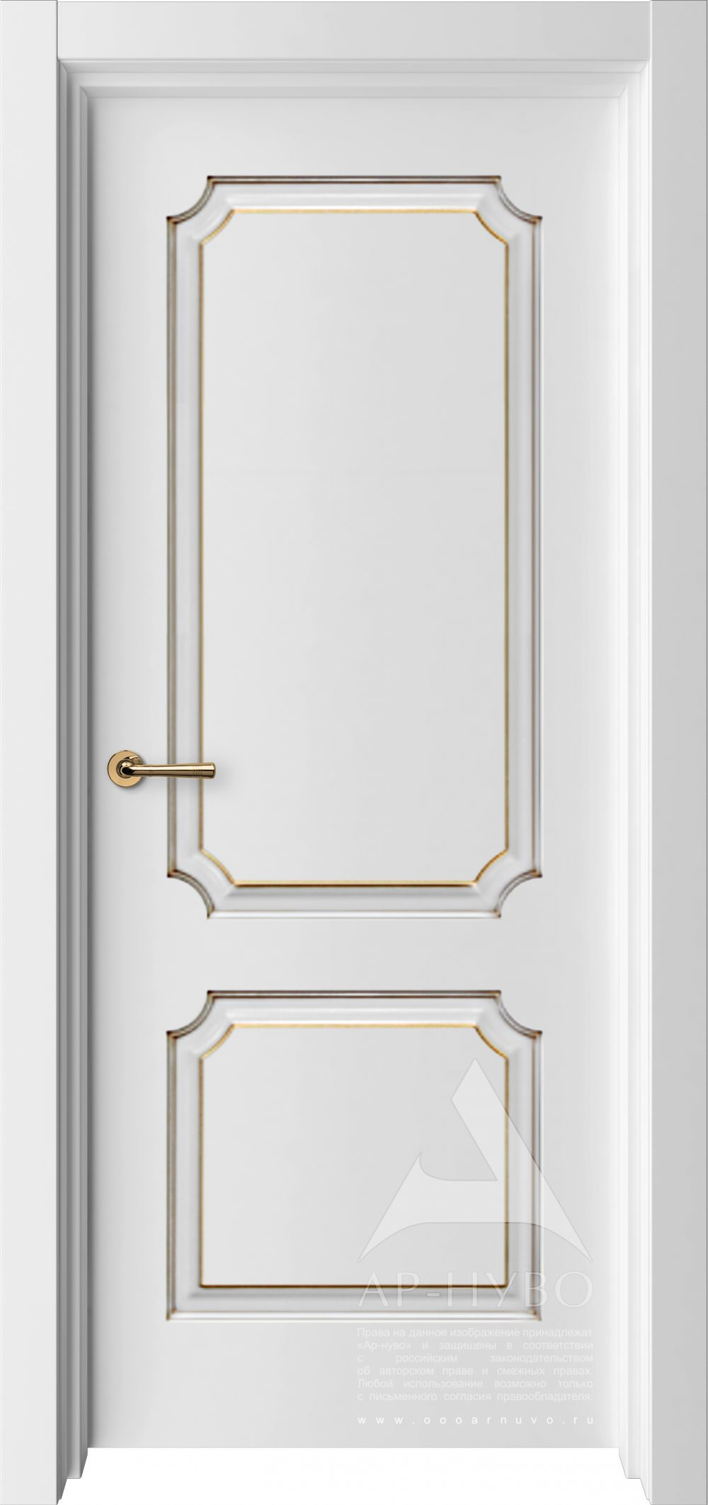 белая межкомнатная дверь с патиной глухая