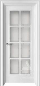 межкомнатная дверь со стеклом фацет