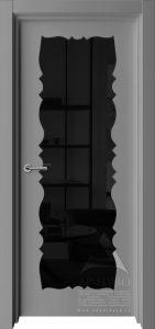 межкомнатная дверь сказка со стеклом триплекс